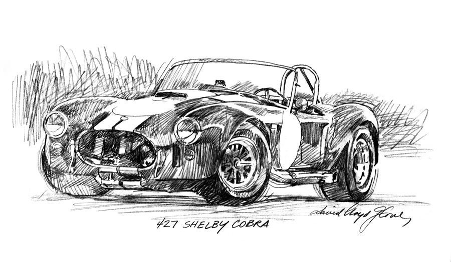 le sport auto  et l'art - Page 33 427-shelby-cobra-david-lloyd-glover