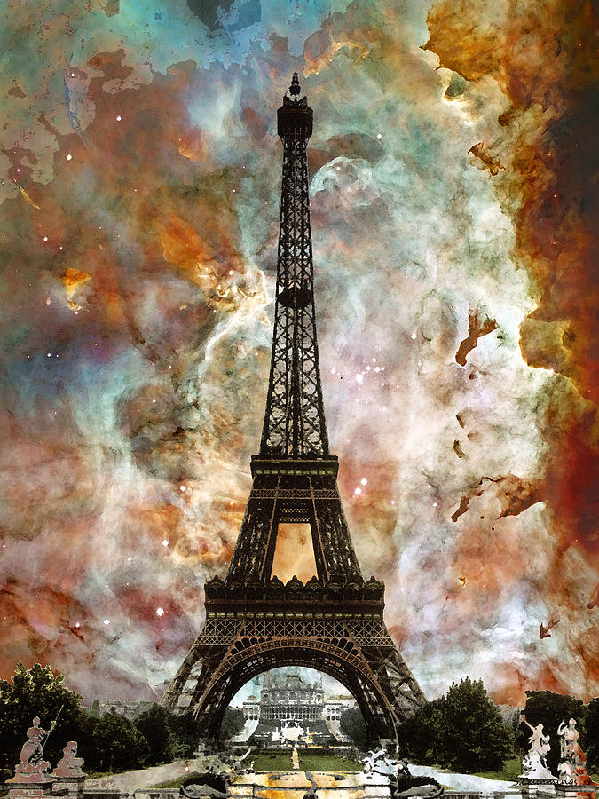------* SIEMPRE NOS QUEDARA PARIS *------ - Página 3 The-eiffel-tower-paris-france-art-by-sharon-cummings-sharon-cummings