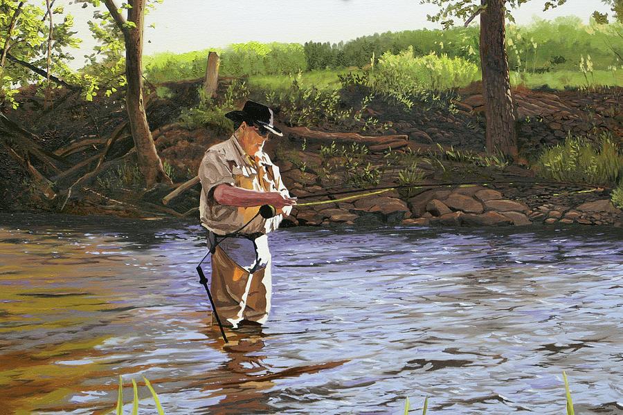 Omaž ribolovcu i ribolovu - Page 5 Fly-fisherman-kenneth-young