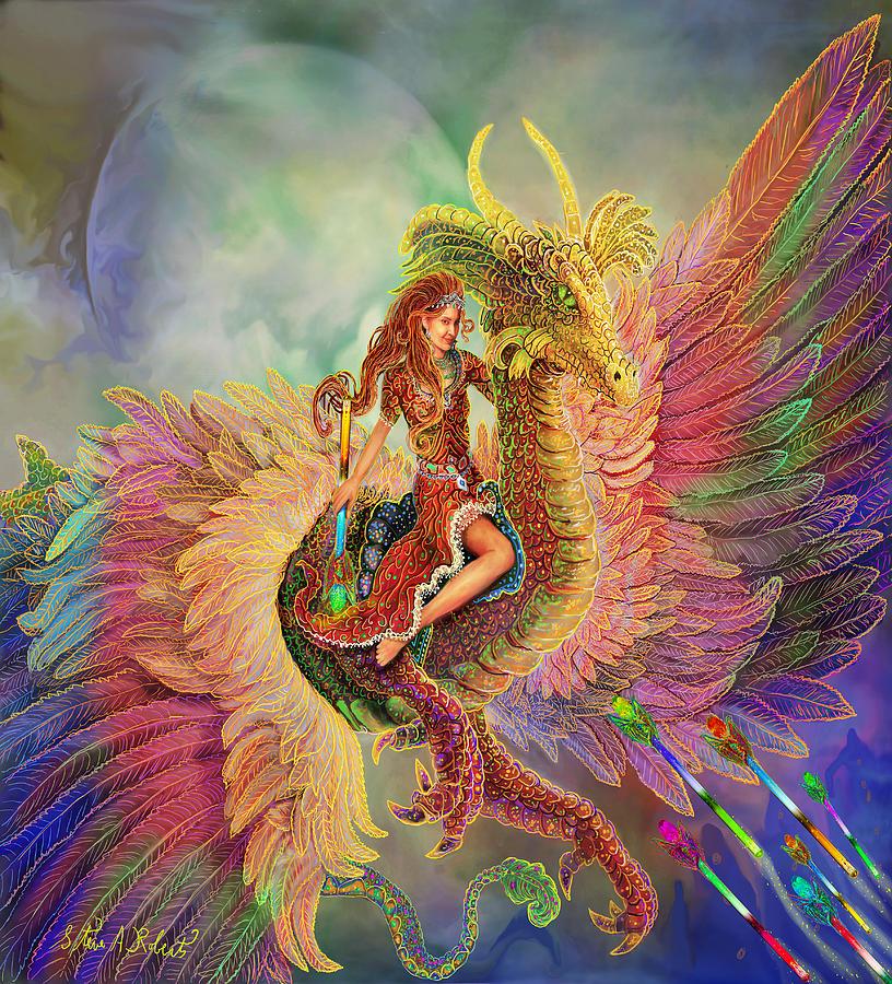 Bienvenidos al nuevo foro de apoyo a Noe #241 / 04.04.15 ~ 06.04.15 - Página 20 Rainbow-dragon-steve-roberts