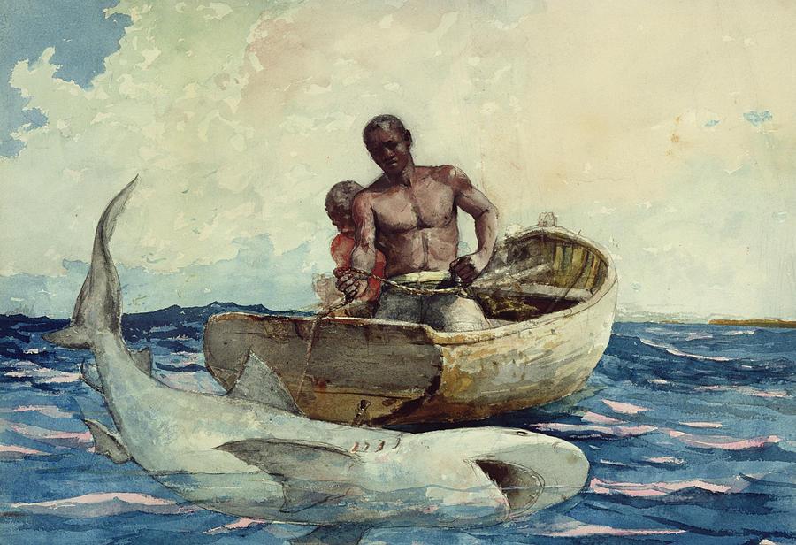 Omaž ribolovcu i ribolovu - Page 6 Shark-fishing-winslow-homer