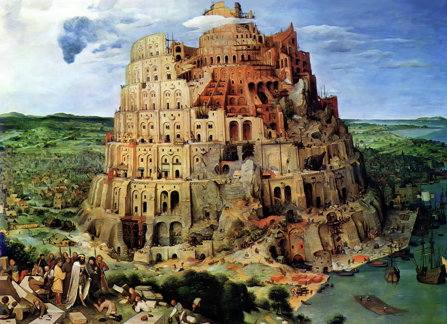 The United States of the Solar System, A.D. 2133 (Book Seven and the Seven Seals) - Page 3 Tower-of-babel-pieter-bruegel