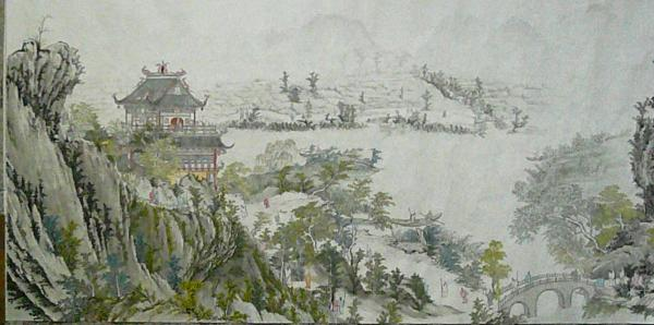 Silence !  - Page 2 A-part-of-giant-traditional-chinese-painting-a-trip-to-the-lakes-and-hills-in-spring-minglou-chen