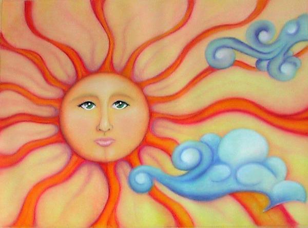 Pastel Pastel-sun-nancy-miller