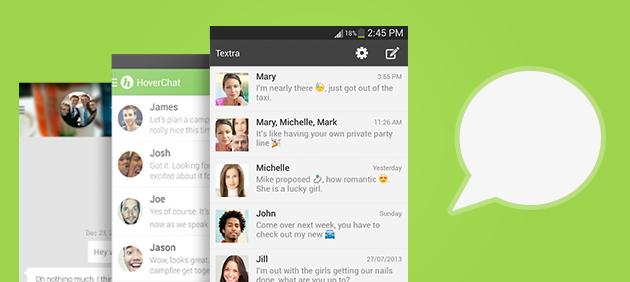 Top 5 des meilleures applications SMS sur Android Dossierapplisms
