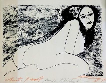 Sensualidad femenina trazada Desnudo-femenino-ting-walasse-jean-paul-perrier-art-gallery-20121214053759