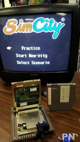 Prototype Sim city sur NES découvert. 59a8798540cac5