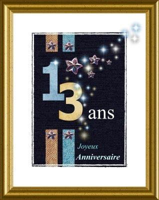 Bon Dimanche Anniversaire-13-ans-etoiles-et-c_yxz