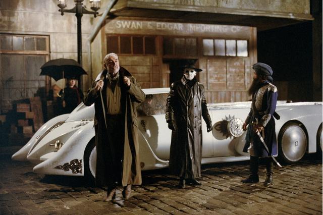 """Nemo´s Car aus dem Film """"Liga der außergewöhnlichen Gentlemen"""" 1:24 von Wave B640x600"""