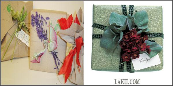 لمسات فنية وأشغال يدوية**أفكار لتغليف وتزيين الهدايا Art2_10
