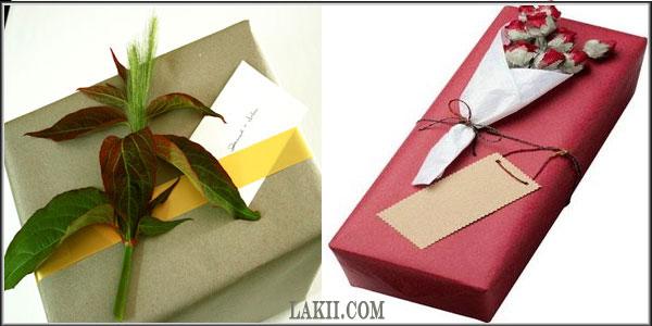 لمسات فنية وأشغال يدوية**أفكار لتغليف وتزيين الهدايا Art2_7