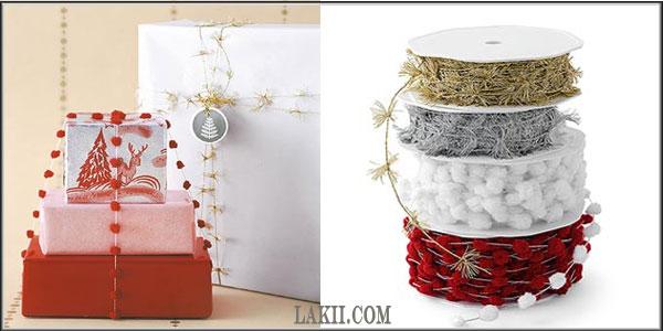 لمسات فنية وأشغال يدوية**أفكار لتغليف وتزيين الهدايا Art2_8