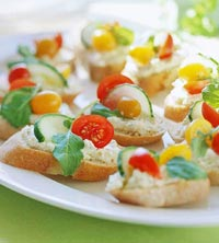 Open Face Sandwiches (Appetizer/Snack) L_R070737