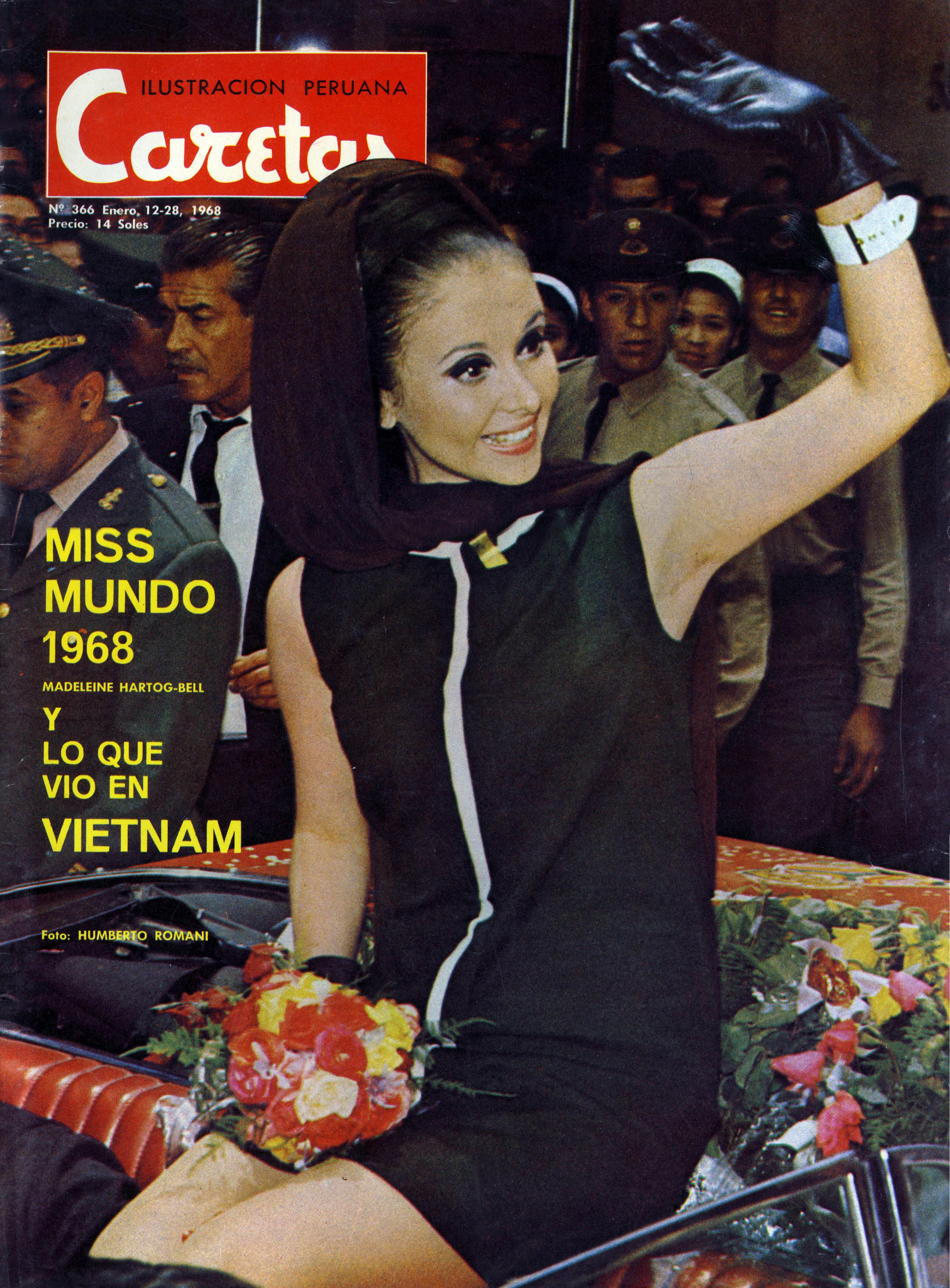 madeleine hartog-bell, primera peruana ser miss world. titulo de miss world 1967. semifinalista de miss universe 1966. Madeleine_Hartog_Bel_paa4