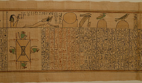 Papiros funerarios .IMAGENES - Página 2 DT11634
