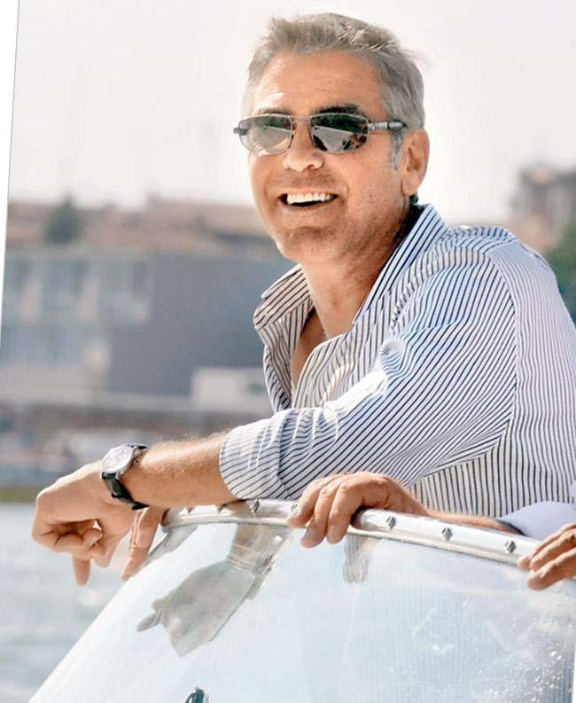 Why are people commitment phobic? George Clooney mention George-Clooney