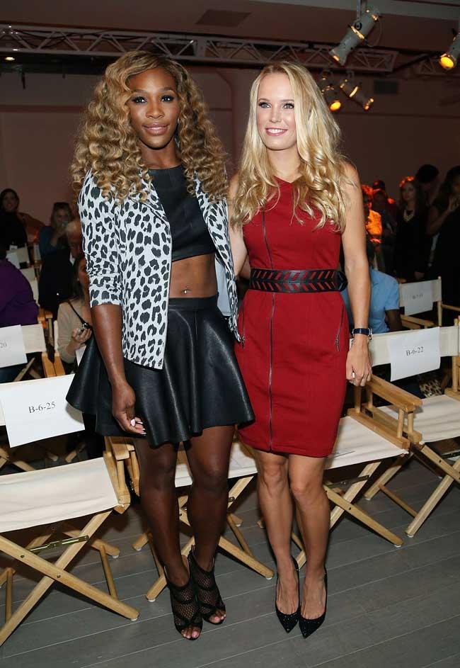 ¿Cuánto mide Caroline Wozniacki? - Real height SERENA-CAROLINE