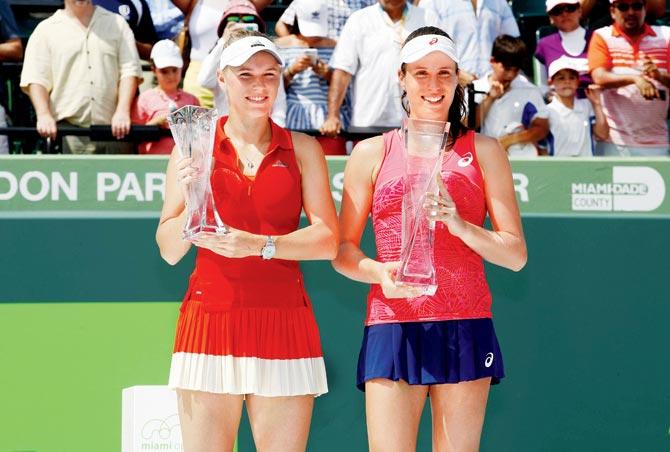 ¿Cuánto mide Caroline Wozniacki? - Real height 3konta-winner