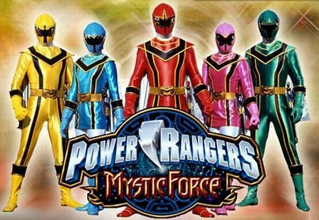 Power Range : Mystic Force [By Living Mobile] 0