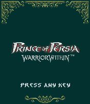 Prince Of Persia : Warrior Within [By Gameloft] 1