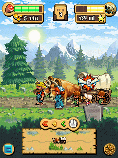The Oregon Trail 2 : Gold Rush [By Gameloft] 2
