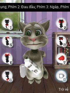 لعبة القط المتكلم بصيغة jar+jad 7