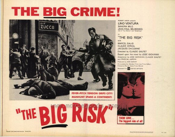 Classe tous risques - Page 2 Big-risk-movie-poster-1963-1020374687