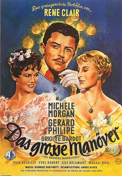 Большие манёвры/ Les Grandes Manoeuvres The-grand-maneuver-movie-poster-1955-1020550874