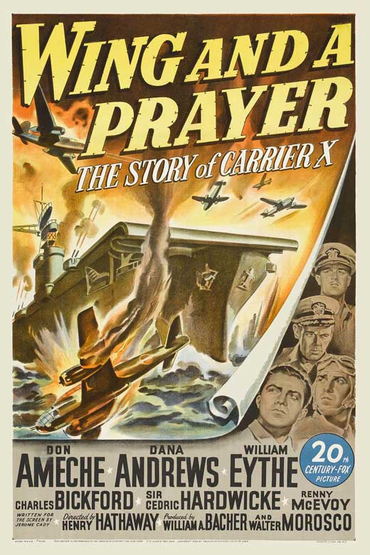 Let's Bomb the Stuffing Out of Them: November Bomber Mission - Page 5 Wing-and-a-prayer-movie-poster-1944-1020543667