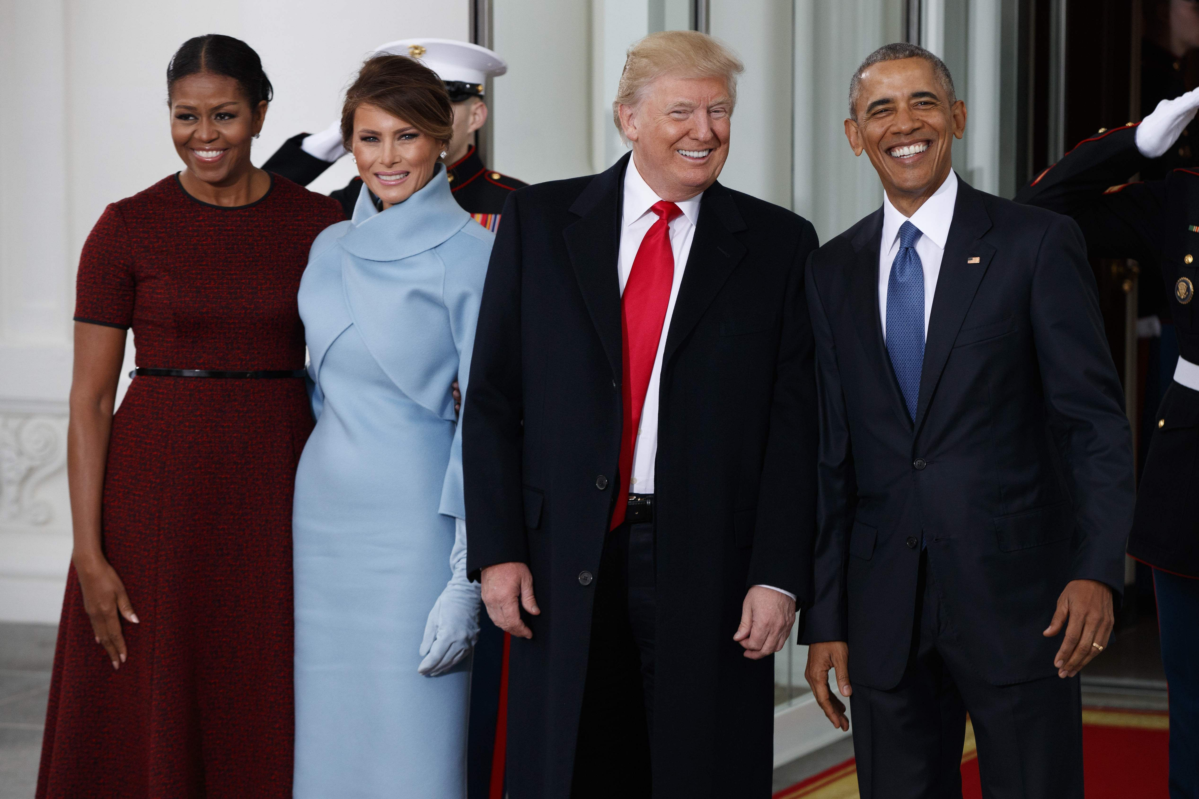 ¿Cuánto mide Barack Obama? - Estatura y peso - Real height and weight PresidentBarackObamafirstladyMichelleObamaPresident-electDonaldTrump