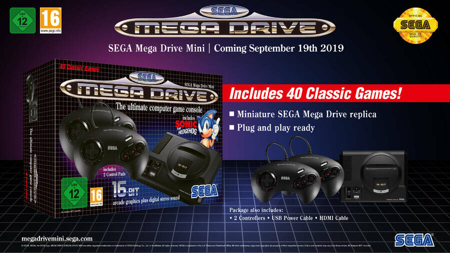 SEGA Mega Drive Mini - Out Now Mega-drive-mini.900x