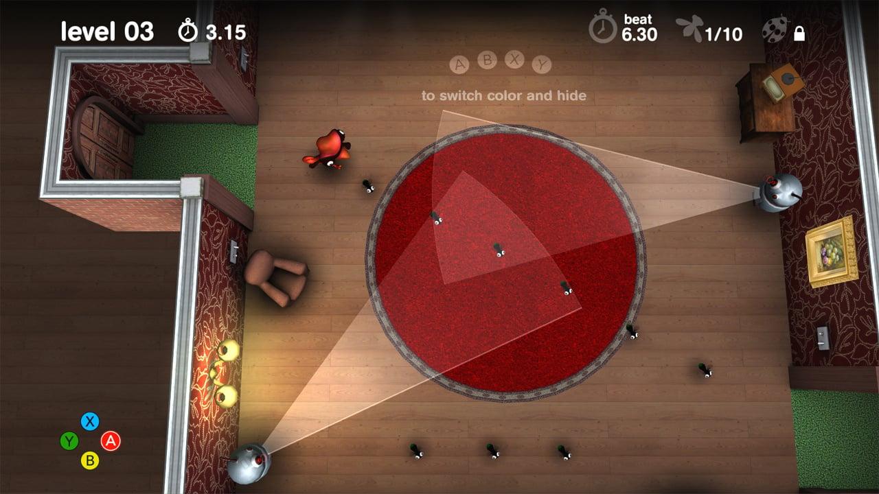 Review: Spy Chameleon (Wii U eShop) Large