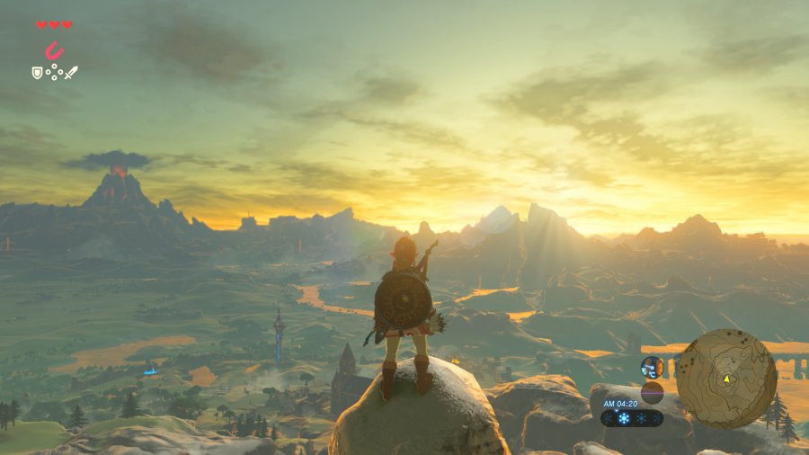 WiiU - Review: The Legend of Zelda ~ Breath of The Wild (Switch Retail) 900x