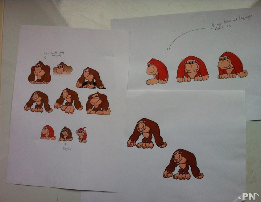 Concept arts Donkey Kong Country 55eb274552c9c4