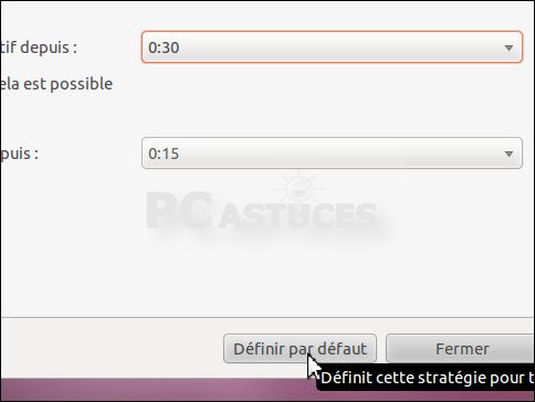 Mettre son ordinateur en veille en cas d'inactivité - Linux Ubuntu 3064-4