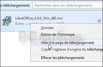 Relancer un téléchargement interrompu avec Firefox 4311-3