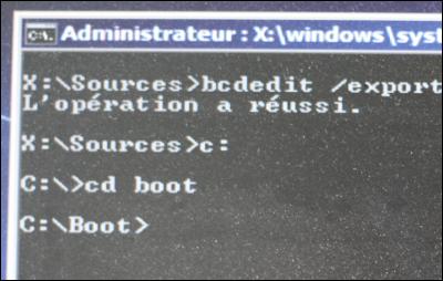 comment reparer un probleme de demarrage du systeme windows 7, windows 8 ou encore windows 10(Recréer les données de démarrage). Reparer_demarrage_19