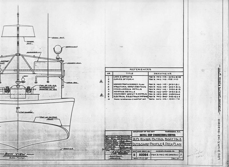 Cherche Plans Patrol Boat River Mk2