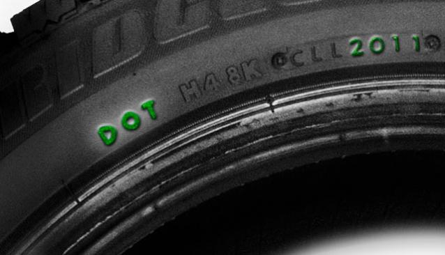 Conseils avant d'acheter des pneus Marquage_DOT_a