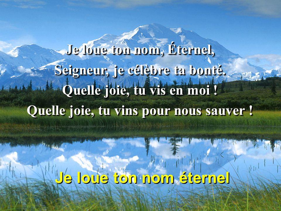 La Louange : Exaltez Dieu en toutes circonstances ! Slide_15