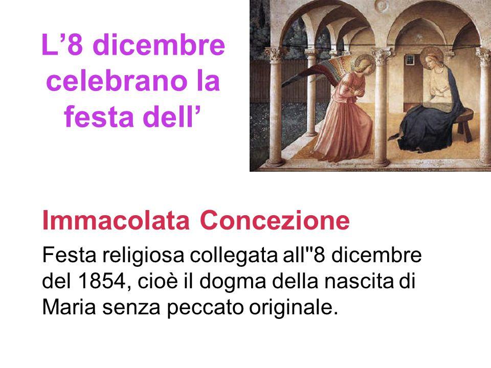 8 Dicembre festa dell'immacolata Concezione Slide_2