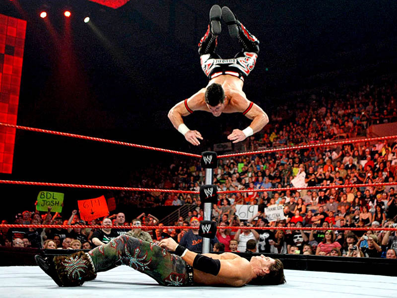 صور ايفان بورن WWE-RAW-Evan-Bourne-John-Morrison_1202378