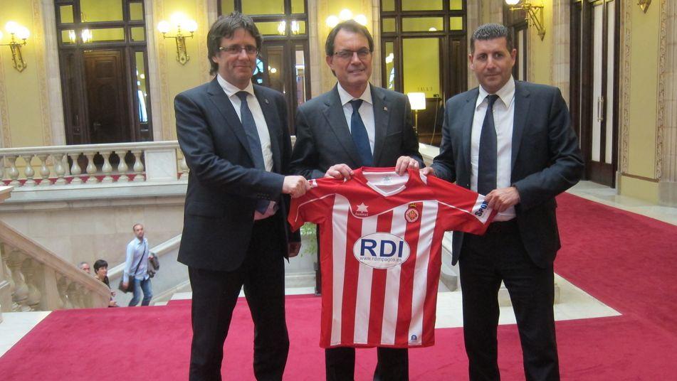 ¿Cuánto mide Carles Puigdemont? - Estatura - Real height Artur-Girona-FC-Liga-BVVA_TINIMA20130619_1217_3