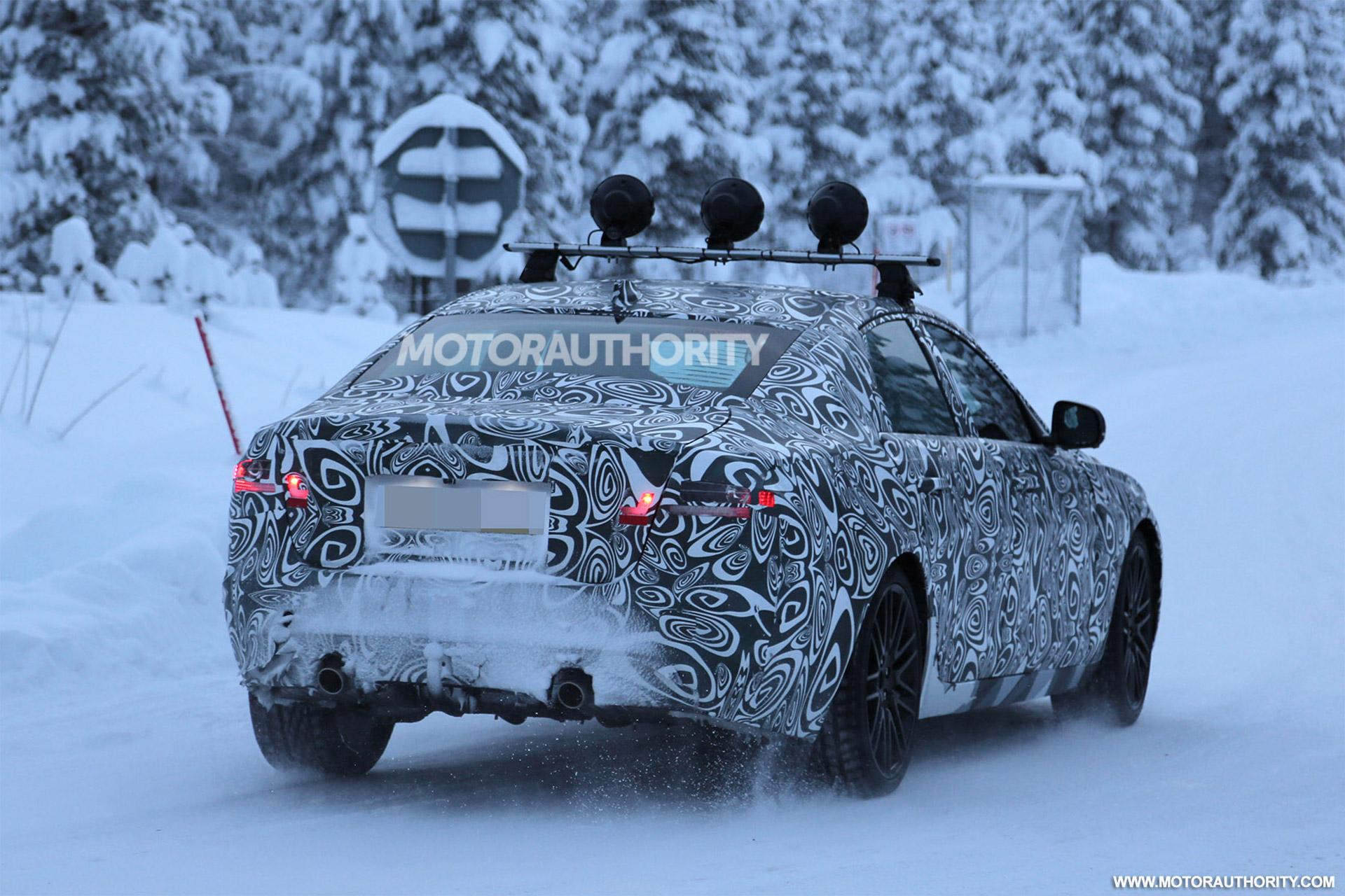 2016 - [Jaguar] XF II [X260] - Page 2 2016-jaguar-xf-spy-shots--image-via-s-baldauf-sb-medien_100497690_h