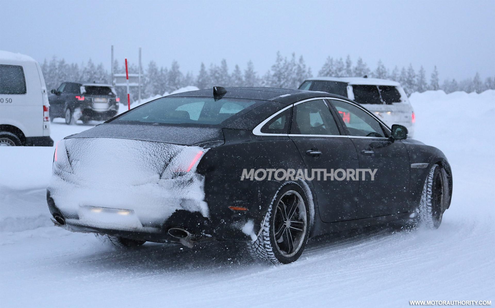 2015 - [Jaguar] XJ Restylée - Page 2 2016-jaguar-xj-facelift-spy-shots_100497781_h