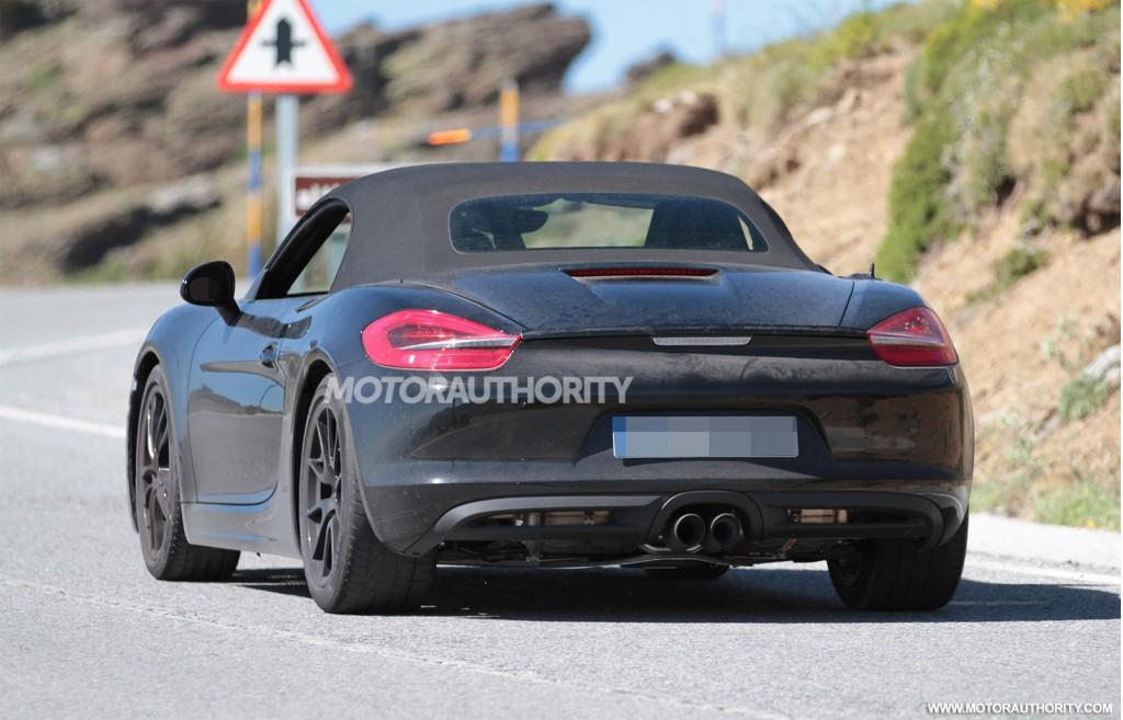 2016 - [Porsche] 718 Boxster & 718 Cayman [982] 2017-porsche-boxster-facelift-spy-shots_100472061_l