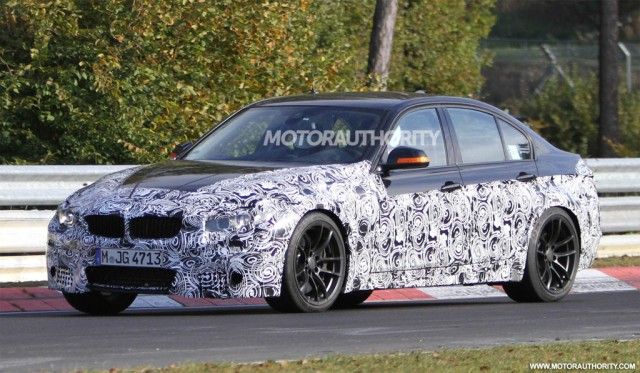 2014 - [BMW] M3 & M4 [F80/F82/F83] - Page 4 2014-bmw-m3-sedan-spy-shots_100367554_m