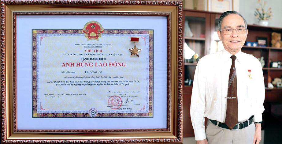 Anh hùng Lao động trong thời kỳ Đổi mới của khối Giáo dục Ngut_le_cong_co_hieu_truong_dai_hoc_ngoai_cong_lap_dau_tien_duoc_chu_tich_nuoc_phong_tang_danh_hieu_anh_hung_lao_dong_tkqn