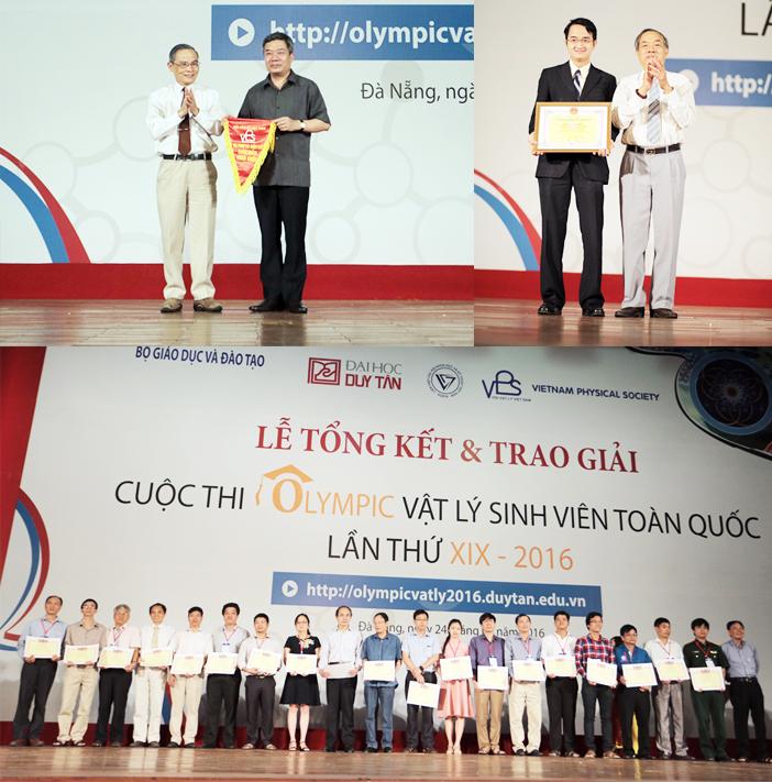 Sinh viên ĐH Duy Tân đoạt giải Nhất Olympic Vật lý toàn quốc 2016 Anh_5_wufv