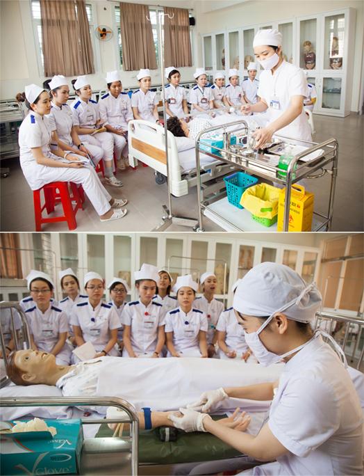Đến Đại học Duy Tân… học ngành Điều dưỡng Anh_1_qjoj